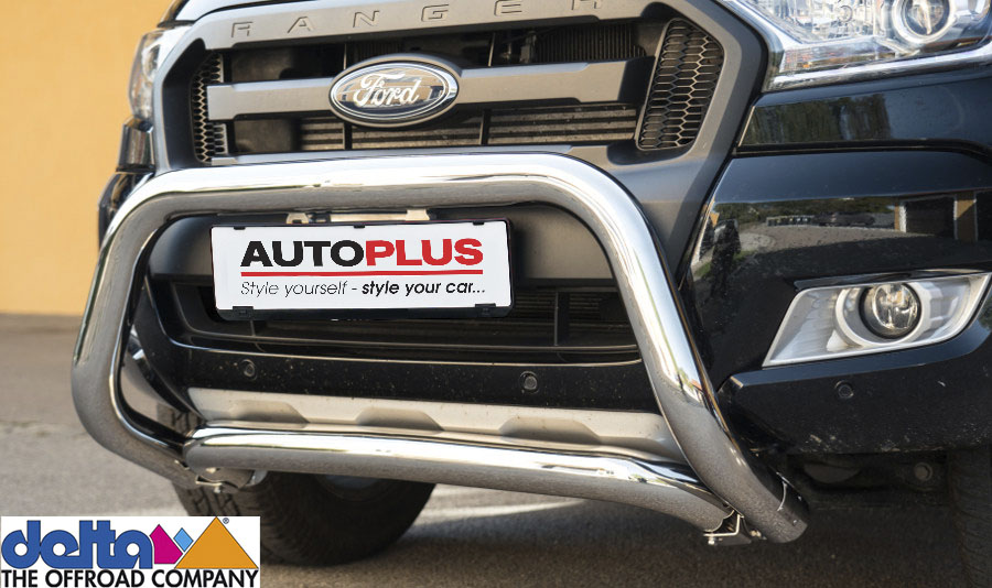 Ford Ranger Frontbügel Silber