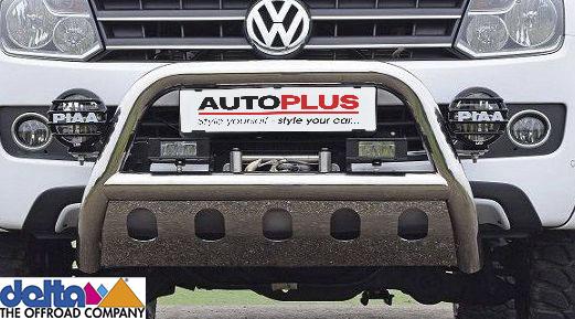 VW Amarok Frontbügel mit Unterfahrschutz Edelstahl