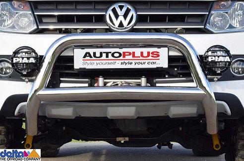 VW Amarok Frontbügel ohne Unterfahrschutz Edelstahl