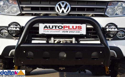 VW Amarok Frontbügel mit Unterfahrschutz Schwarz