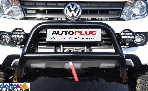 VW Amarok Frontbügel ohne Unterfahrschutz Schwarz