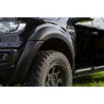 Ford Ranger Kotflügelverbreiterung in matt schwarz